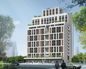 文山區木柵社會住宅模擬圖