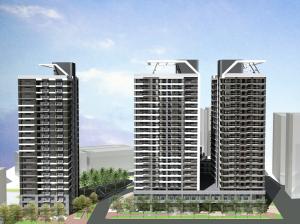 南港區東明社會住宅模擬圖
