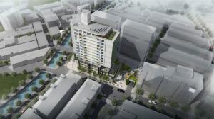 南港區中南社會住宅模擬圖