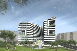內湖區瑞光社會住宅模擬圖
